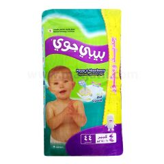 Baby Joy,Size 4, Large, 10 - 18 kg, 44 Diapers