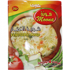 Noon soup powder with vegetables 56 grams