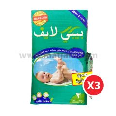 Baby Life, Size 3, Medium, 4 - 9 kg, 144 Diapers