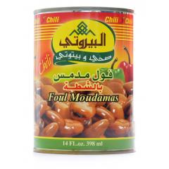 Al-Bayrouty Chili Foul Moudamas 400g