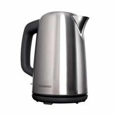 Kenwood Electric Kettle, 3000 Watts, 1.7 Liter, Silver and Black