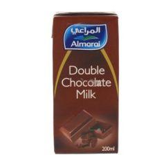 Almarai double chocolate milk 200 ml