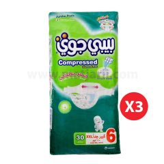 Baby Joy, Size 6, XXLarge, 16+ kg, 90 Diapers