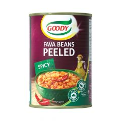 GOODY-Fava Beans Peeled Spicy, 450gm