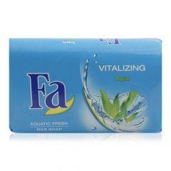 Fa Vitalizing Aqua Aquatic Frish Bar Soap  125gX6