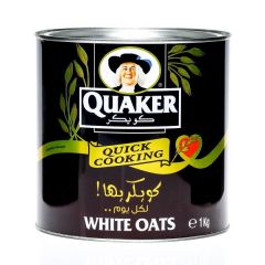 Quaker Quick Cooking White Oats 1Kg