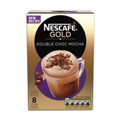 Nescafe Gold Double Choc Mocha 8Pcs