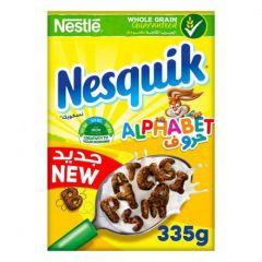 Nesquik breakfast food Letters 335 gm