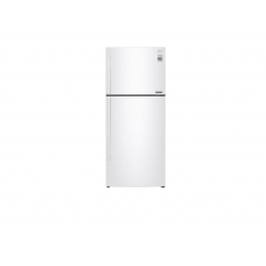 LG 437L Top Freezer Refrigerator, White Color, Inverter Linear Compressor, DoorCooling+
