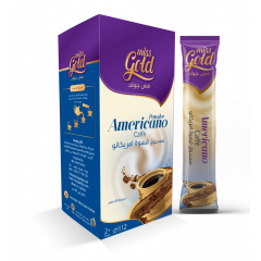 miss Gold Americano coffee powder 12+2 - 7g
