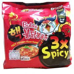 Samyang 3X Spicy Noodle Bag 140g