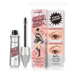 Benefits Gimme Cosmetics Eyebrow + Volumizing Eyebrow Gel, 4.5 - Neutral Dark Brown, 1 Count