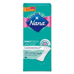 Nana Daily Fresh Long, 28 Pads