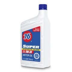 76 Super Synthetic Blend Motor Oil SAE 5W30