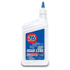 76 Lubricants 1045397 80W-90 Multipurpose Automotive Gear Lubricant - 1 Quart