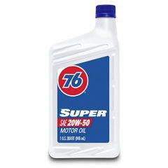 76 Lubricants 1043361 Super SAE 20W50 Motor Oil - 1 Quart