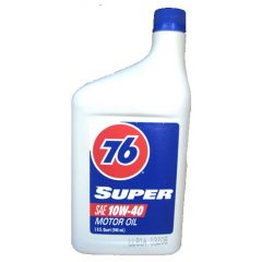 76 Lubricants 1057616 10W-40 Super Motor Oil - 1 Quart