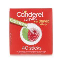 Canderel Stevia Low Calorie Sweetener Sticks 40Pcs 80g