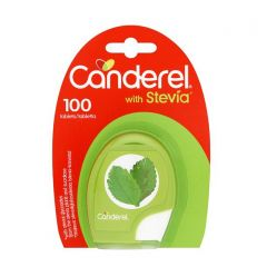 Canderel Low Calorie Stevia Sweetener, 100 Tablets