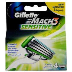 Gillette Mach3 sensitive/4