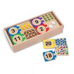 Melissa & Doug Self-Correcting Number Wooden Puzzles