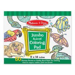 Melissa & Doug Jumbo Coloring Animals Pad
