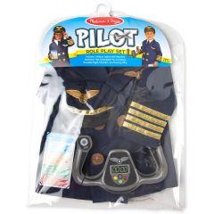 Melissa & Doug Pilot Role Play Costume Set
