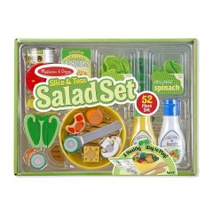 Melissa & Doug Slice & Toss Salad Making Play Set