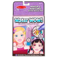Melissa & Doug Water Wow! - Makeup And Manicures