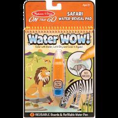 Melissa & Doug Water Wow! Safari Water Reveal Pad