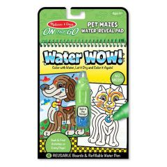 Melissa & Doug On The Go Water Waw! - Pet Mazes