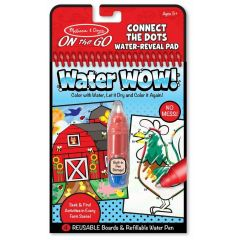 Melissa & Doug Water Wow! Farm Connect The Dots
