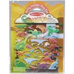 Melissa & Doug Reusable Puffy Sticker Kit- Dinosaurs