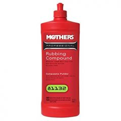 Mothers 81132M Professional Rubbing Compound 32 Oz