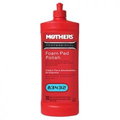 Mothers 83432M Professional Foam Pad Polish 32 Oz