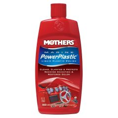 Mothers 91058M Marine Power Plastic Liquid Polish 8 Oz