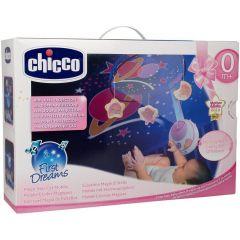 chicco Magic Stars Cot Mobile design: Rosa
