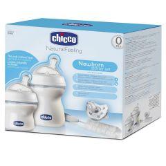 Chicco - Natural Feeling Feeding Bottle Set - Small