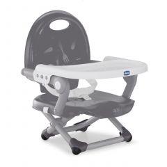 Chicco Foldable Feeding Chair Pocket Snack - Dark Grey