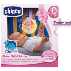 Chicco Goodnight Moon Soft Musical Nightlight Pink