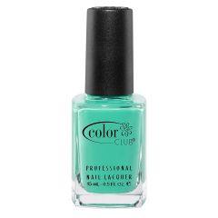 Color Club Poptastic Neons Nail Polish, Age of Aquarius, Neon, Turquoise