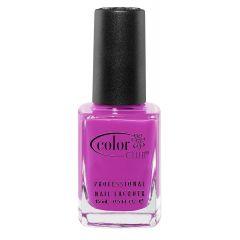 Color Club Poptastic Neons Nail Polish, Purple, Peace Out Purple