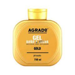 AGRADO GOLD BATH GEL 750ML