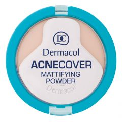 Dermacol Acne Cover Mattifying Porcelain Powder No.1