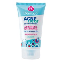 Dermacol Acne Clear Antibacterial Face Wash Gel 150ml