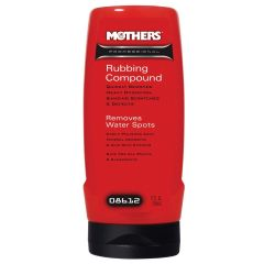 Mothers 8612M Professional Rubbing Compound 12 Oz