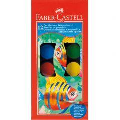Faber Castell Watercolour Paint Set, 12 Colors