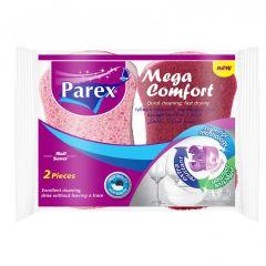 Parex Mega Comfort Nail Saver Sponges, 2 Pieces