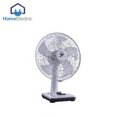 Home Electric Table Fan 50W , 3 speed wind choice White