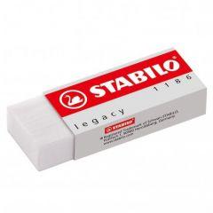 Stabilo Legacy Eraser Rubber White